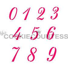 Script Numbers