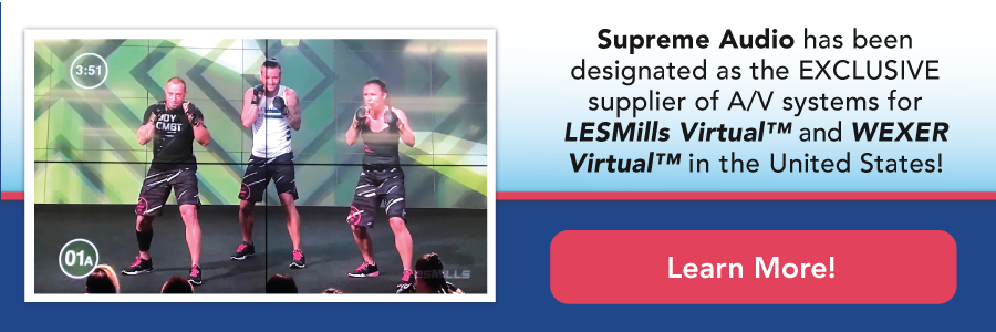 Supreme Audio is the EXPERT in Virtual Fitness Systems
