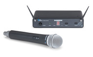 Samson SWC88HCL6-K Concert 88 Wireless Handheld System with Q6 Handheld Dynamic Mic (CH88-Q6/CR88x)