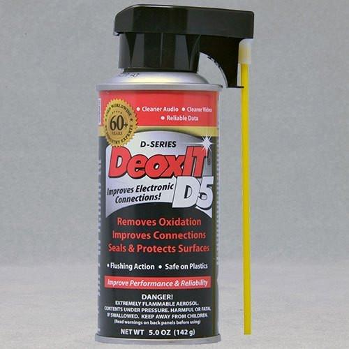 DeoxIT® D5S-6 Contact Cleaner & Rejuvenator