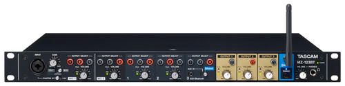 Tascam MZ-123BT Commercial-grade Multi-Zone Audio Mixer