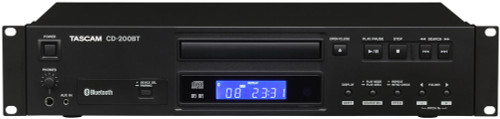 Tascam CD-200BT CD Player with Bluetooth Receiver‎