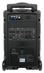 Galaxy Audio GAL08PC TV8 AC/Battery-Powered 120 Watt Peak Powered Companion Speaker - Basic System + 1 Wireless Receiver