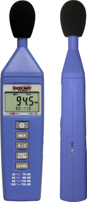 Galaxy Audio CM-130 Check Mate SPL Sound Pressure Level Meter