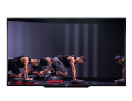 "SHARP PN-LE901 90"" Class UHD Ultra High Definition COMMERCIAL LCD TV featuring Les Mills GRIT"