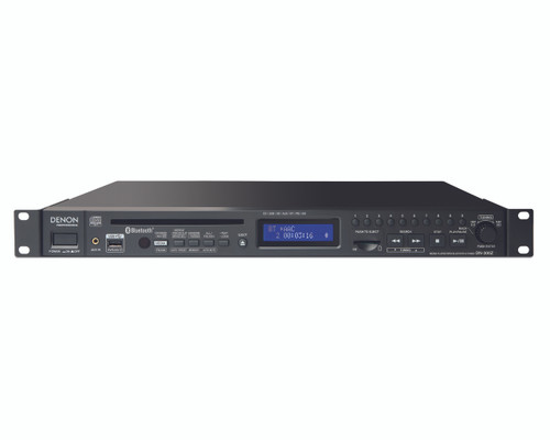 Denon DN-300Z CD (single play), SD, USB Player with Bluetooth and AM/FM Receivers