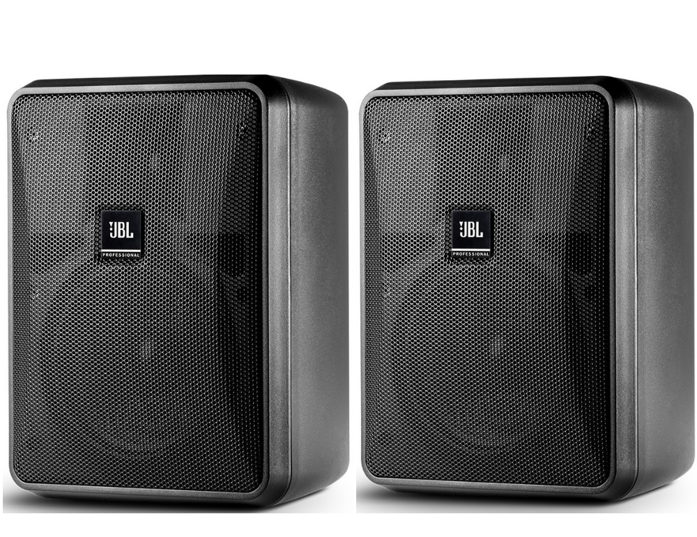 Jbl Outdoor Speakers >> Jbl Control 25 1 Compact Indoor Outdoor Background Foreground Speakers Black Pair