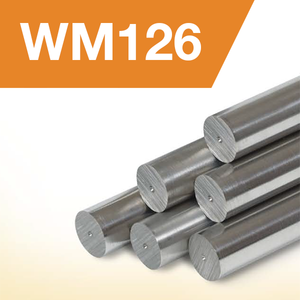 "WM126 Bar Stock: 2.50"" Diameter (12"" Length)"