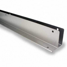 "57"" x 1/2"" Stainless Steel Continuous L-Bracket (6060.5SS)"