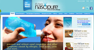 Nasopure for nasal irrigation, the nicer Neti
