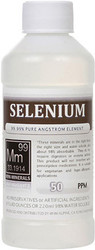 Selenium comes in 8, 16 and 128 ounces.