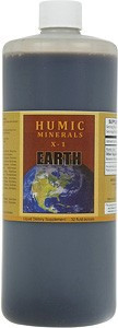 Humic Minerals X-1 comes in 32 and 128 ounce sizes.