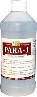 Para-1 comes in a 16 ounce size.