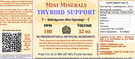 Thyroid Support comes in 32 ounce container. Recommend to refrigerate once opened.