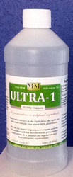 Ultra-1 comes in 8, 16 and 128 ounce sizes.