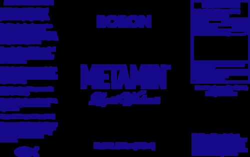 Ionic Angstrom Mineral Boron  Metamin