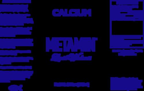 Metamin Calcium, Liquid Ionic Angstrom Minerals, availabile in 16, 32, and perhaps 128oz size