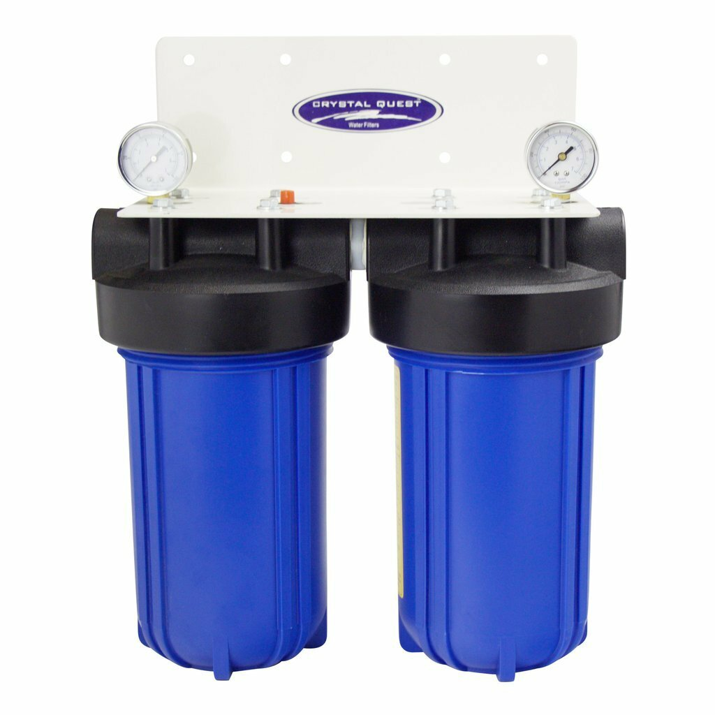 CQ CITY OR WELL WATER - COMPACT INLINE HOME/OFFICE WATER FILTRATION 10