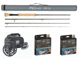 Ultimate 9wt Starter Saltwater Outfit - Echo, Lamson Rio