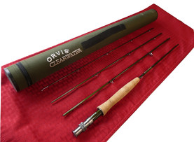 """Orvis Clearwater, 7'6"""" 3wt 4pc, USED, Good Condition"""