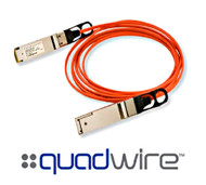 Finisar Quadwire FCBG414QB1CX0 56G FDR QSFP+ Active Optical Cable