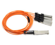 Juniper Compatible QFX-QSFP-AOCBO-10M Breakout Active Optical Cable