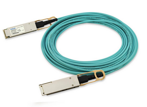 Finisar FCBN425QE1C40 40m 100G QSFP28 Active Optical Cable