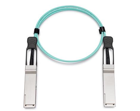 Supermicro Compatible CBL-QSFP+AOC-1M QSFP+ to QSFP+ Active Optical Cable