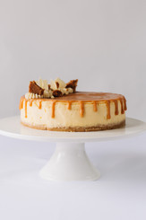 New York Style Caramel Baked Cheesecake