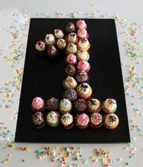 Mini Cupcake Number 1
