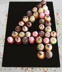 Mini Cupcake Numbers 4