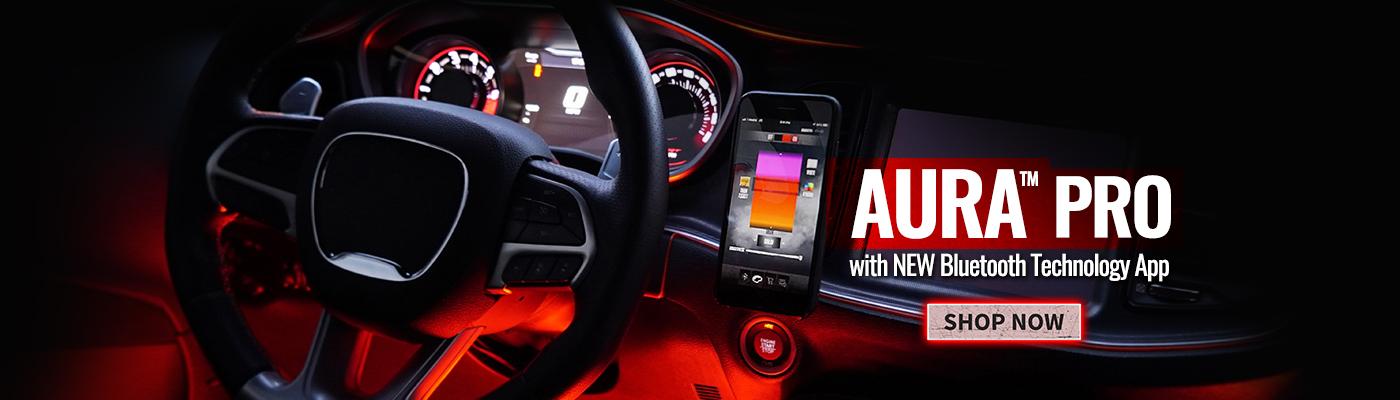 Aura Pro Bluetooth LED Accent Lighting Truck Car Moto