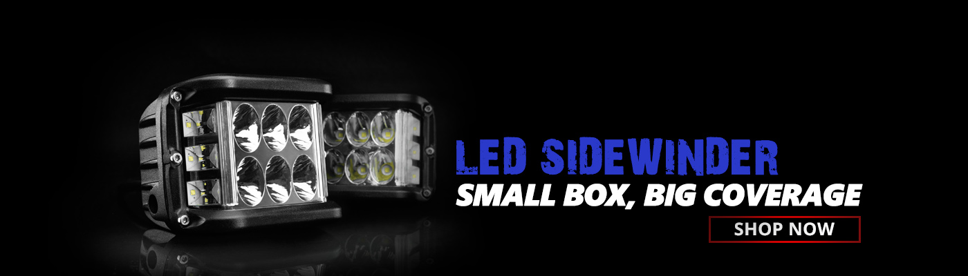 Side Shooter LED Pod