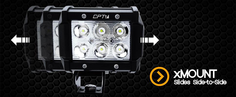 Xmount led pod lights