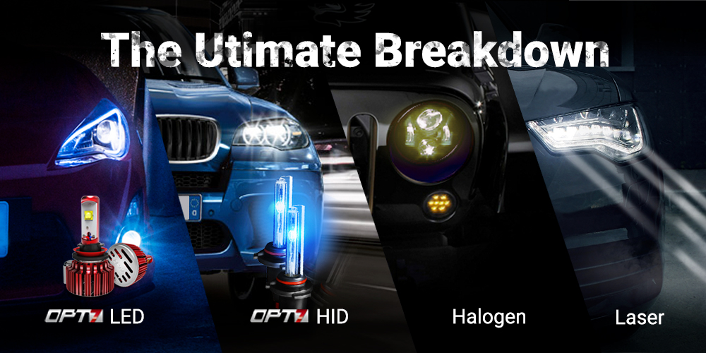 Halogen Light Vs Led >> The Ultimate Breakdown: LED, HID, Halogen, and Laser ...