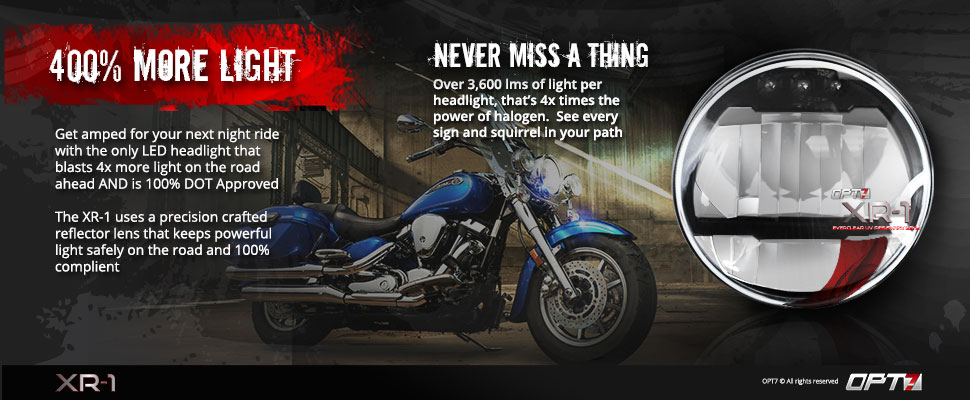 7-inch motorcycle replacement headlight