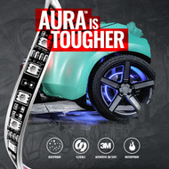 AURA Wheel well designed to last