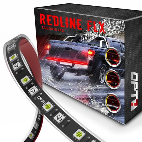 Redline FLX Flexible LED Tailgate Light Bar with Reverse