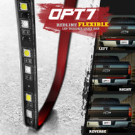 Redline FLX Flexible LED Tailgate Brake Light Bar with Reverse