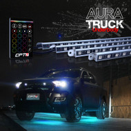 AURA Truck Bundle (Truck LED Aluminum Underbody  Underglow Lighting Kit + Truck Bed Lights)