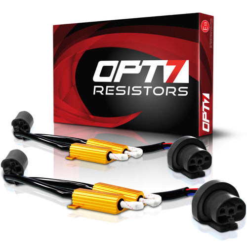 TIPM Stabilizing Resistor Pair for FluxBeam LED Headlights & AC HID Kits