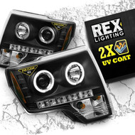 2009 2010 2011 2012 2013 2014 halo headlights drl led rex lighting