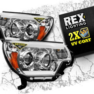 2012 2013 2014 2015 toyota tacoma headlights chrome rex lighting