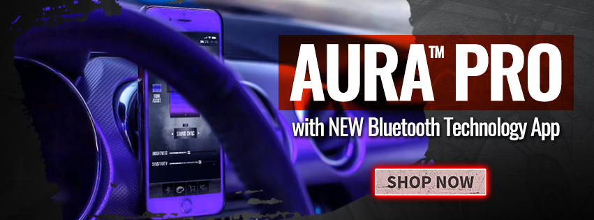 Just Released! AURA Pro with Bluetooth