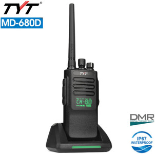 TYT MD-680D UHF DMR/Analog Commercial two-way radio