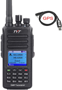 TYT MD-UV390 Waterproof DMR Digital Two Way Radio with GPS programming cable