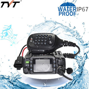 TYT TH-8600 IP67 Waterproof 25 Watt Dual Band Mobile Transceiver with USB Cable and software