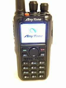 AnyTone AT-D868UV GPS Ver II + USB cable + Mic Dual Band Analog/DMR