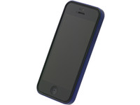 Flat Bumper Metallic Blue for iPhone 5