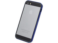 Flat Bumper Metallic Blue for iPhone SE 5s/5